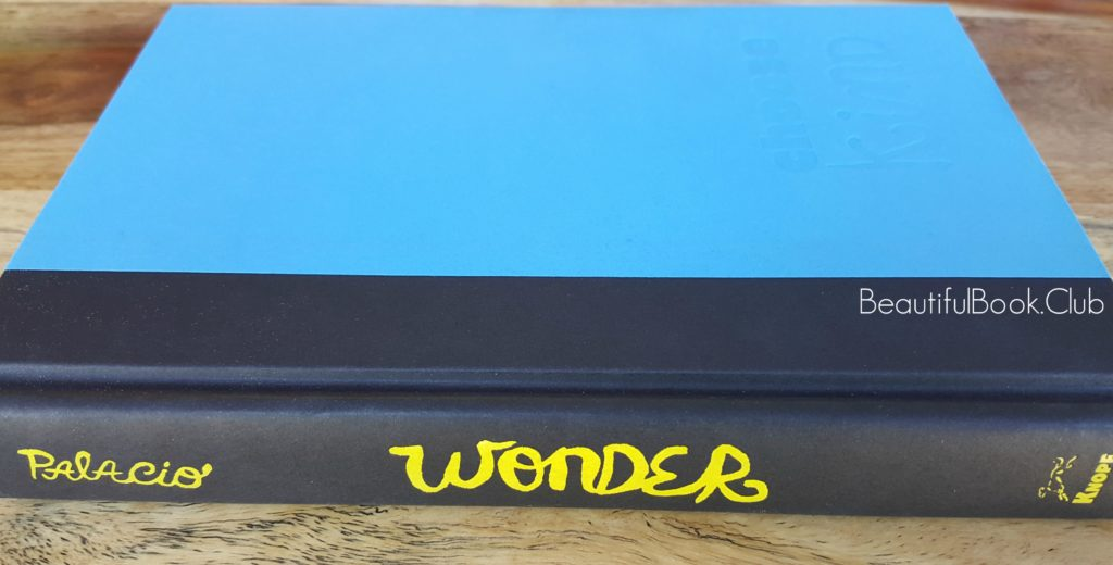 Wonder by Palacio spine