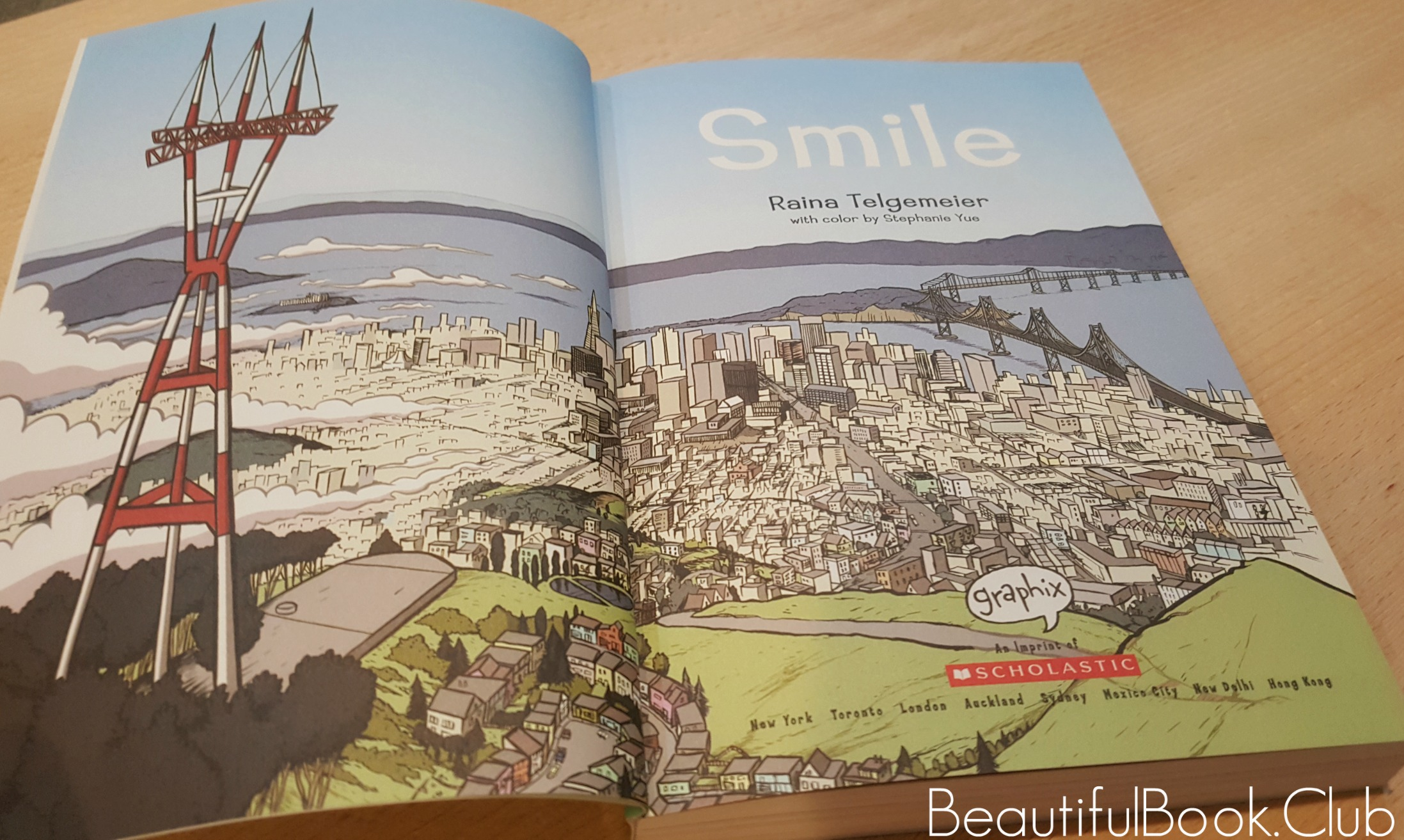 first page of Smile