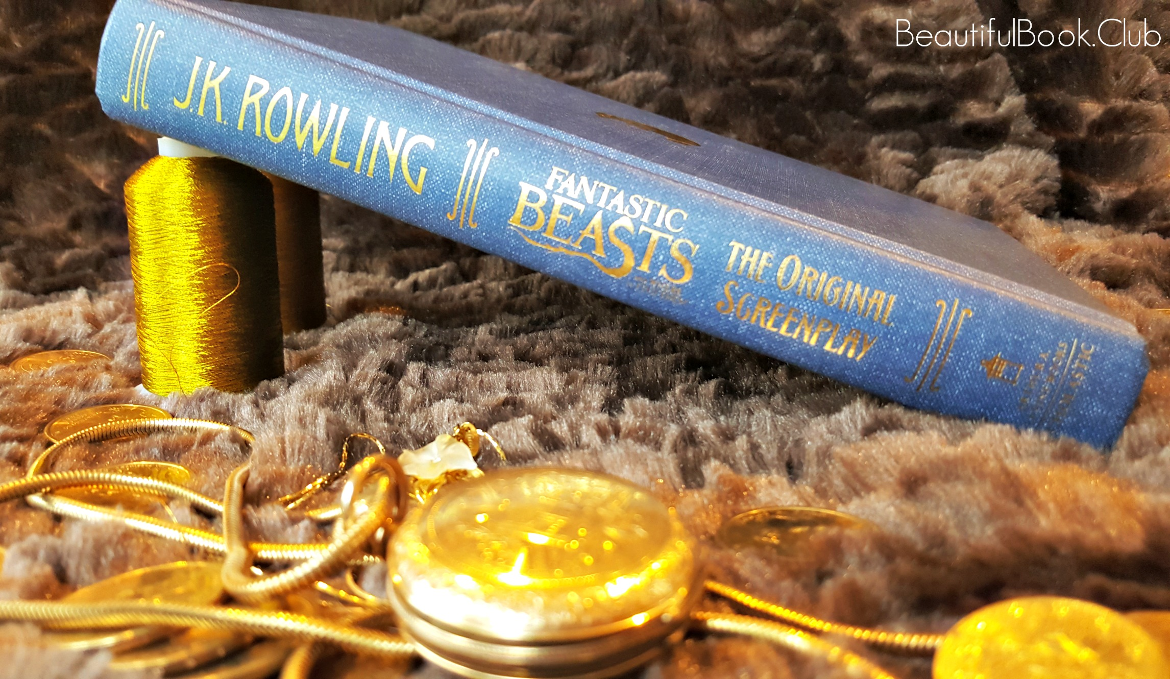 Fantastic Beasts spine without cover