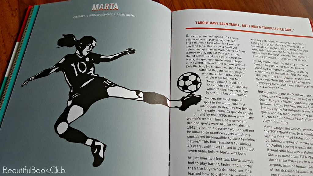 Rad Women Worldwide Marta soccer