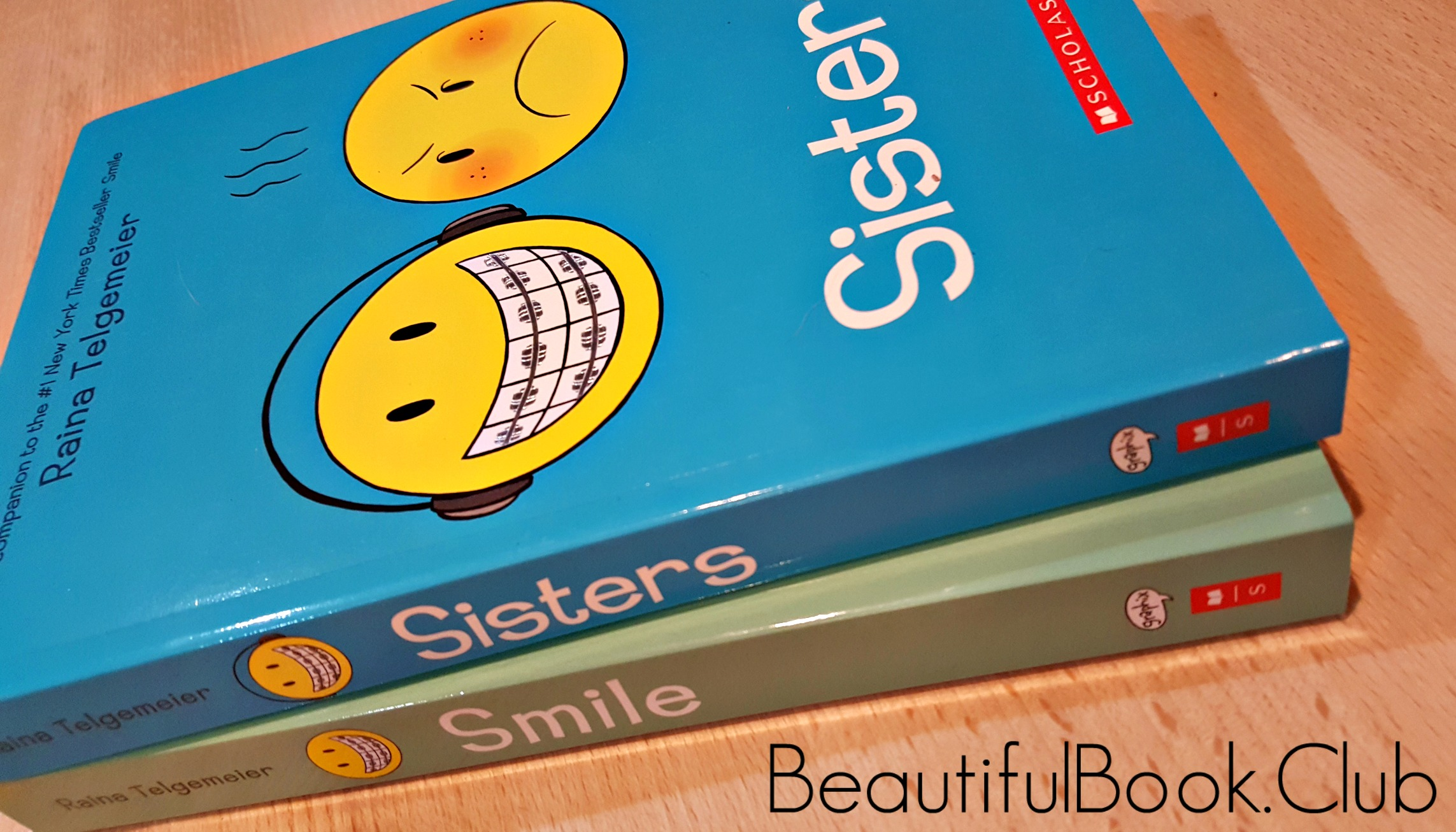 Smile and Sisters front cover together