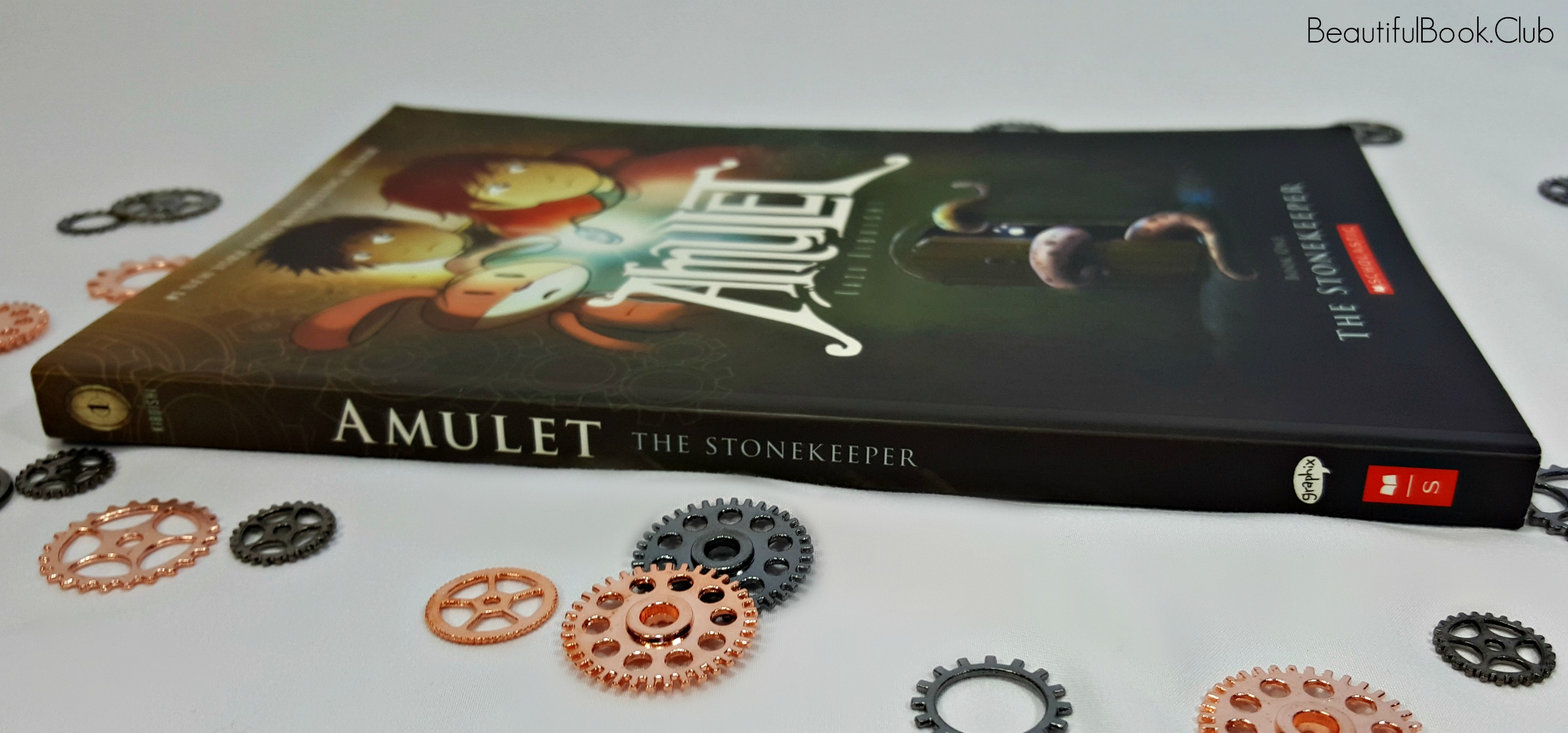 The Stonekeeper spine side view