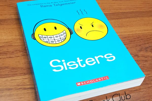 sisters by raina telgemeier graphic novel