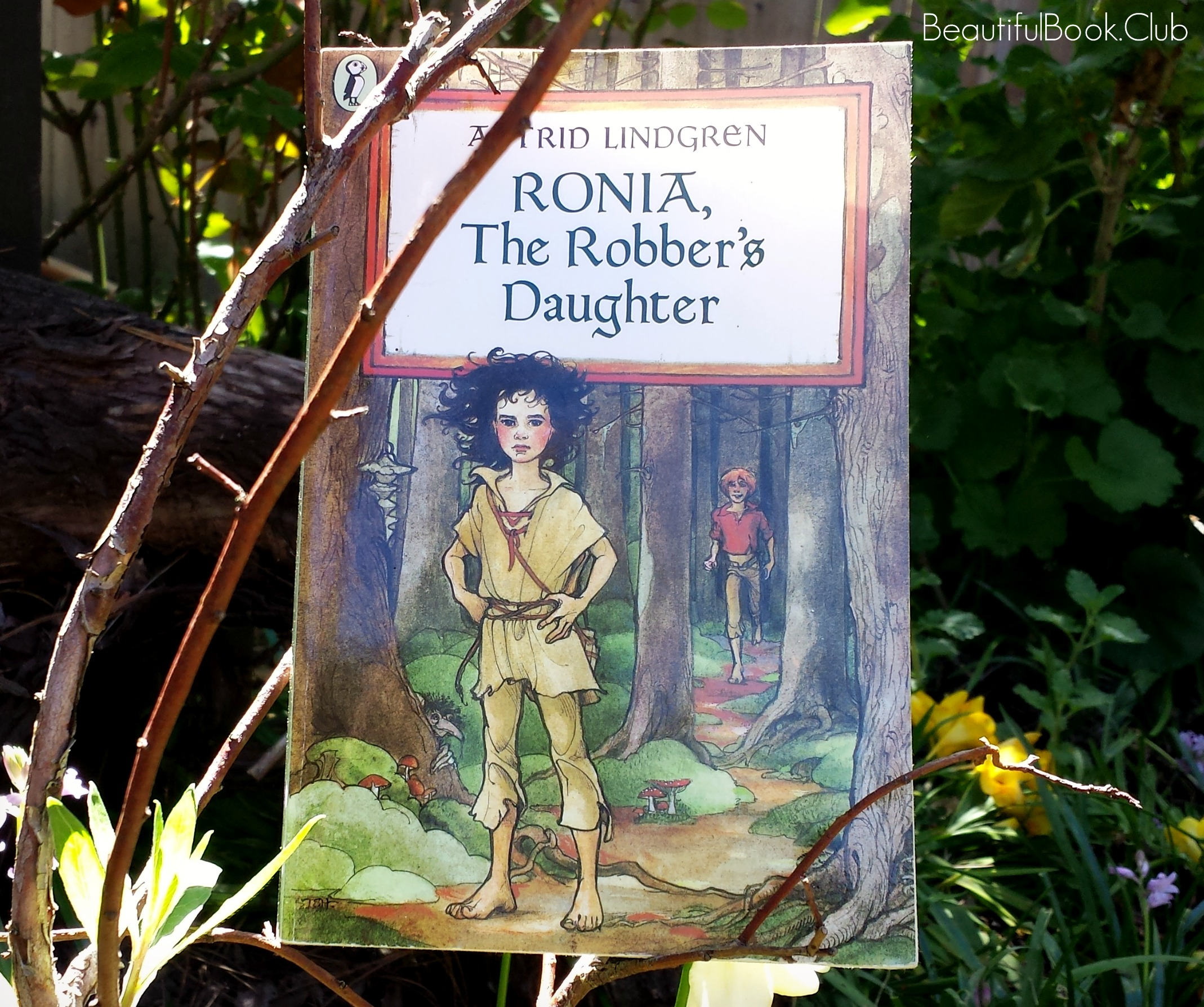 Ronia, The Robber's Daughter front cover