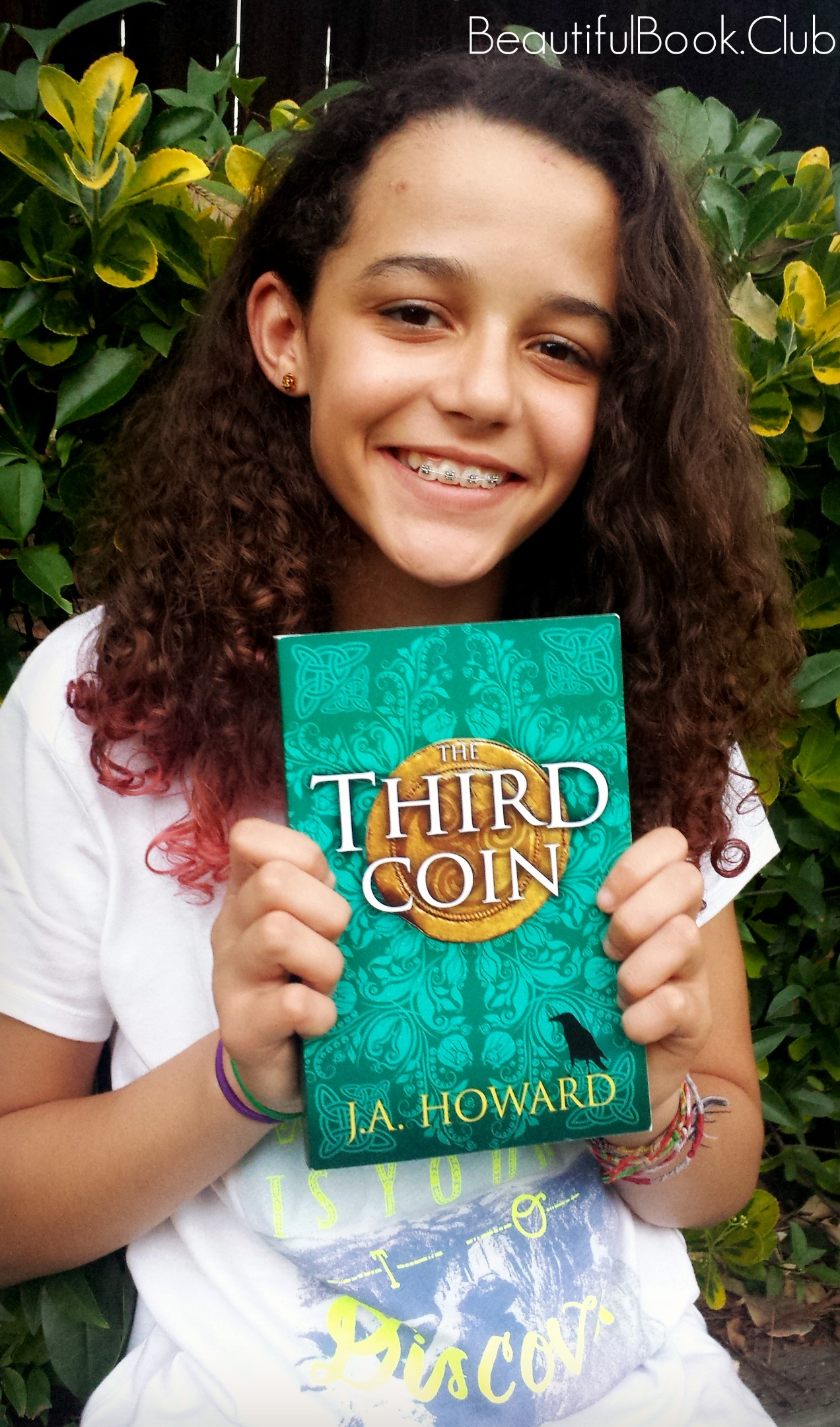 The Third Coin by J.A. Howard with me