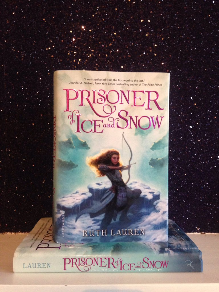 Prisoner Of Ice And Snow by Ruth Lauren two copies