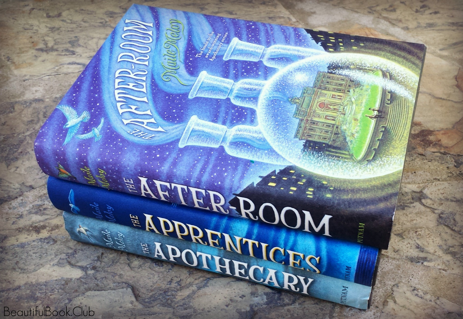 The After-Room by Maile Meloy with The Apothecary series