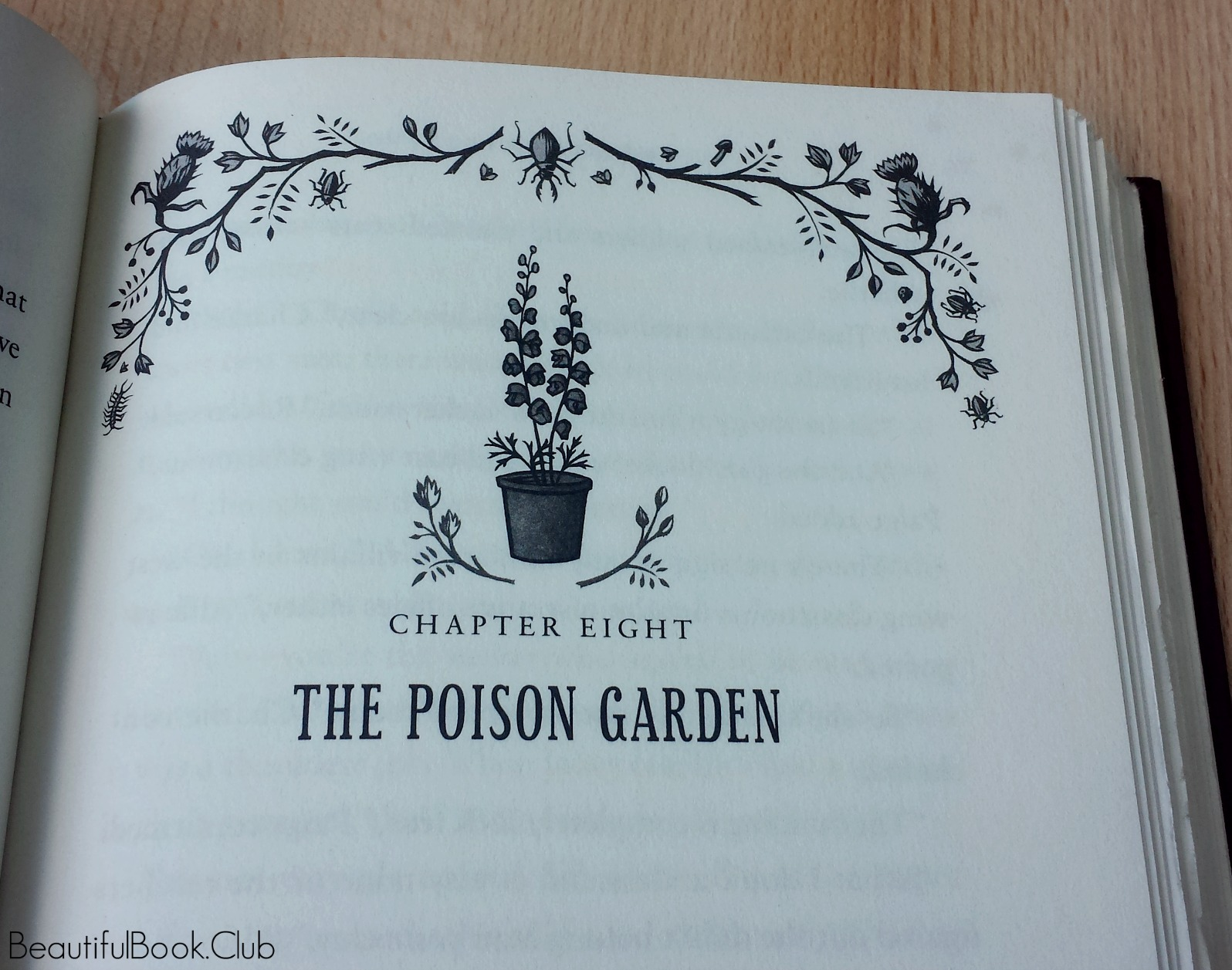 The poison garden chapter 8 by jason segel and kirsten miller