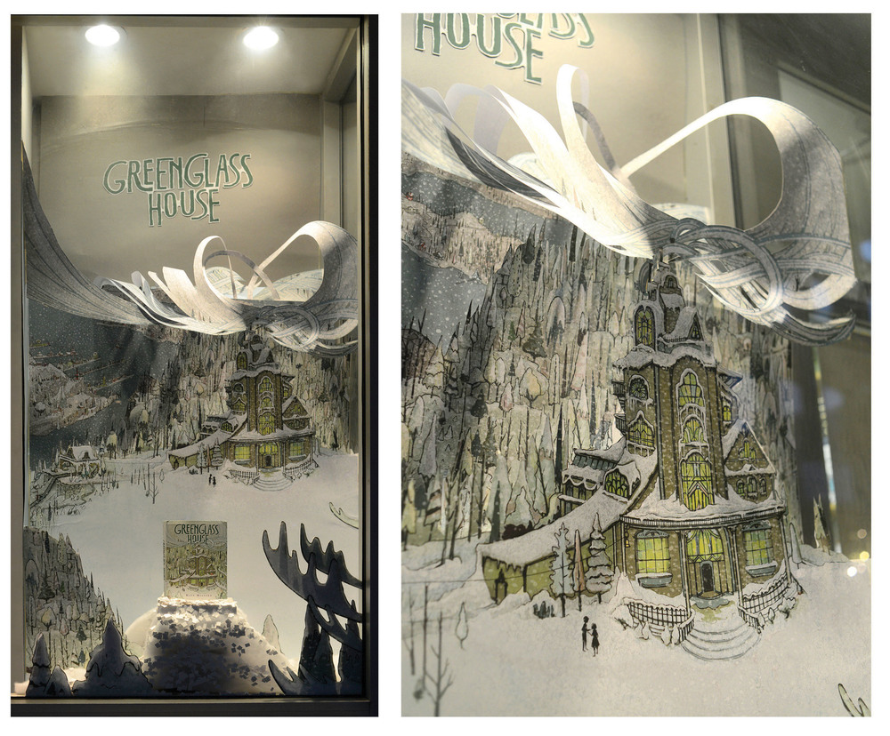 greenglass house book display from jaimezollars com