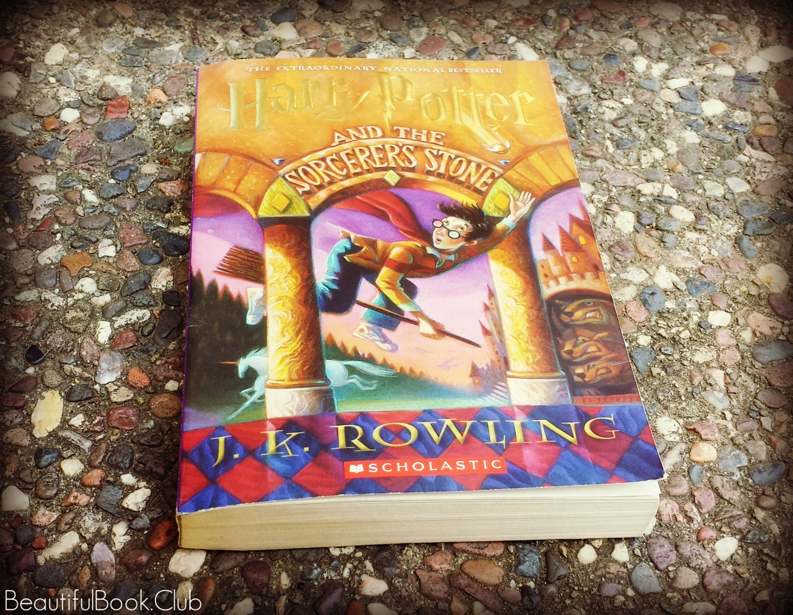 Harry Potter and the Sorcerer's Stone by J.K. Rowling front cover