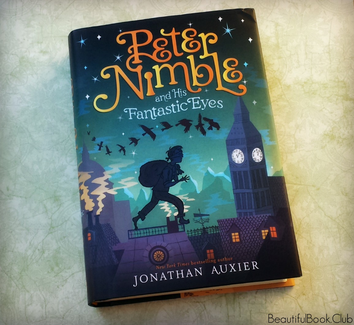 Peter Nimble and His Fantastic Eyes by Jonathan Auxier front cover