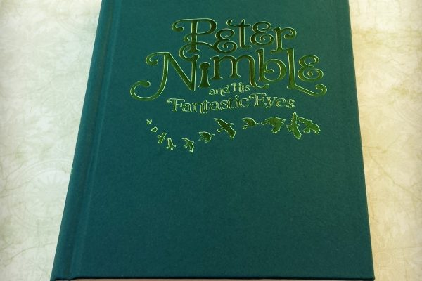 Peter Nimble and His Fantastic Eyes by Jonathan Auxier without book jacket