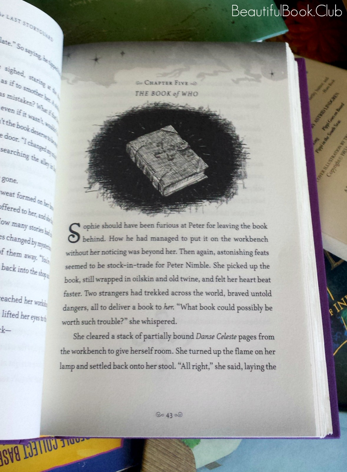 Sophie Quire and the Last Storyguard by Jonathan Auxier chapter five The Book of Who