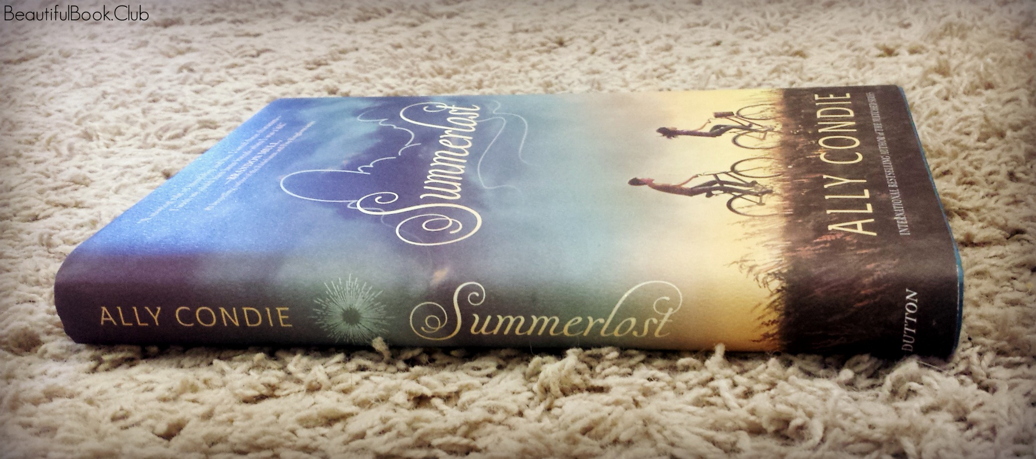 Summerlost by Ally Condie spine