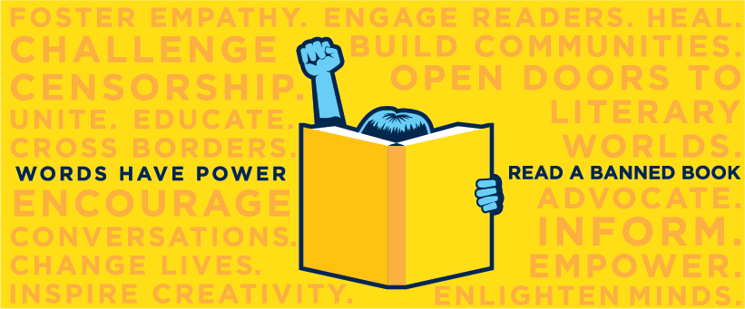 Words have power banned book week