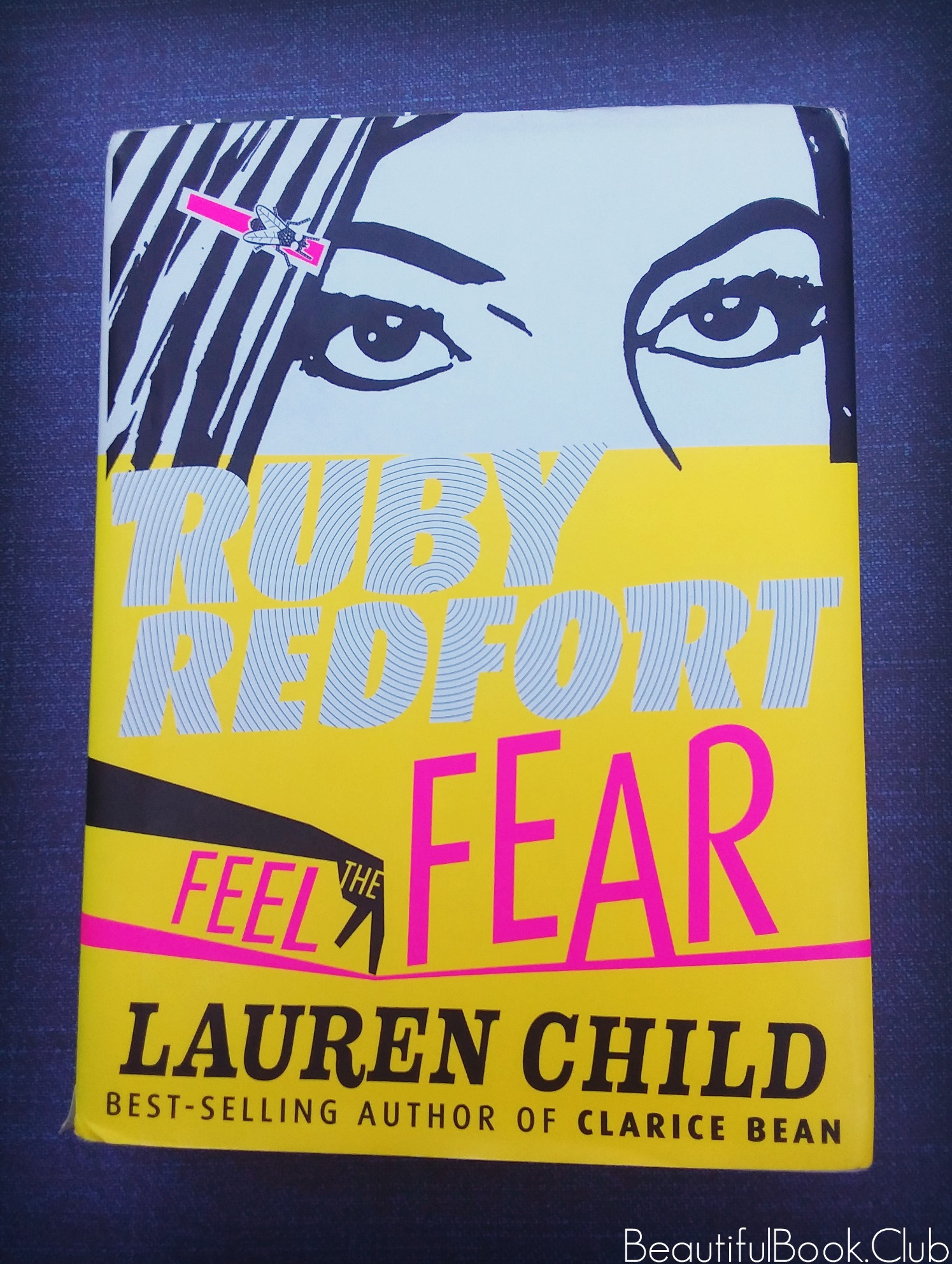 Feel the Fear by Lauren Child Ruby Redfort series front cover