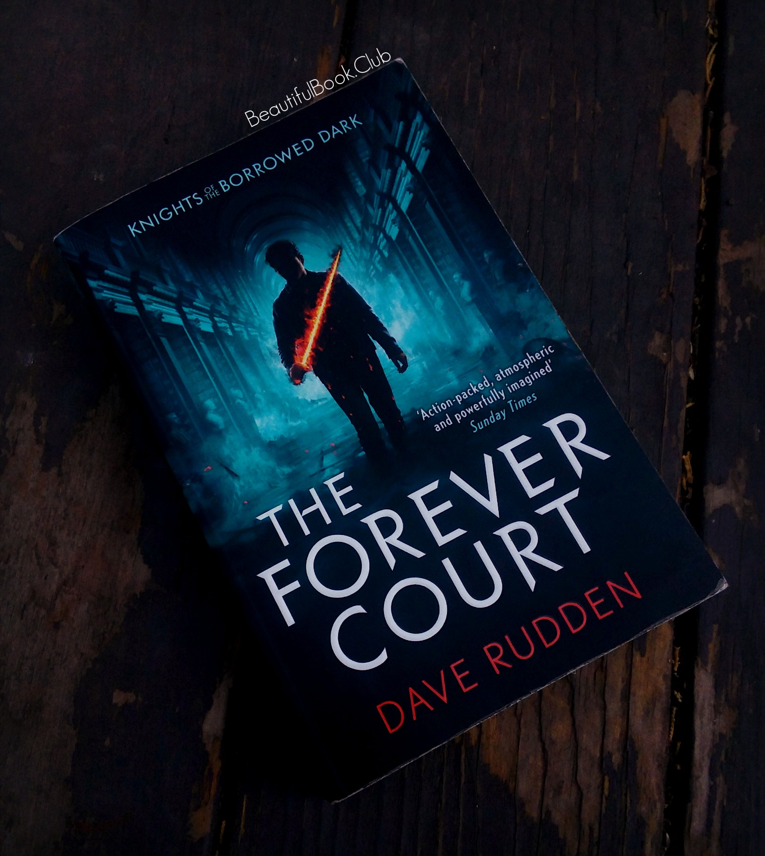 The Forever Court by Dave Rudden Knights of the Borrowed Dark trilogy book #2 front cover