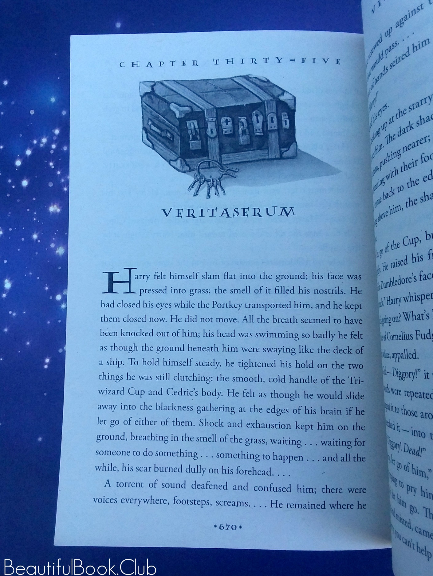 Harry Potter and the Goblet of Fire by J.K. Rowing chapter thirty-five Veritaserum