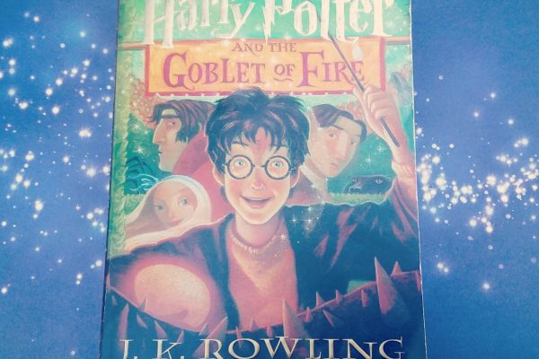 Harry Potter and the Goblet of Fire by J.K. Rowling front cover