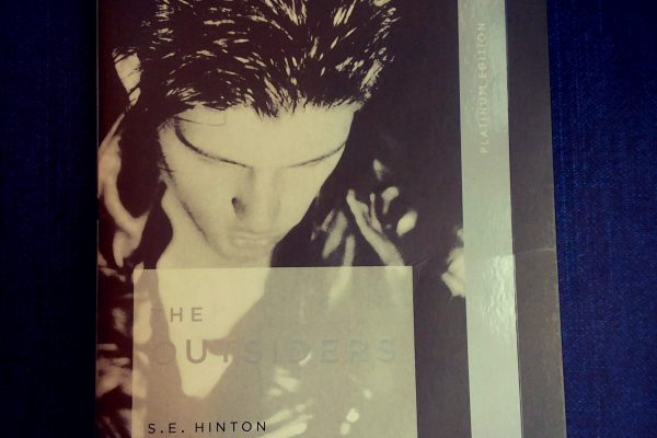 The Outsiders by S.E. Hinton front cover