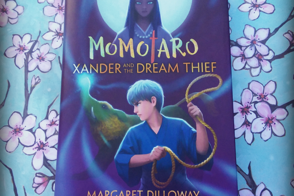 Xander and the Dream Thief by Margaret Diloway front caver