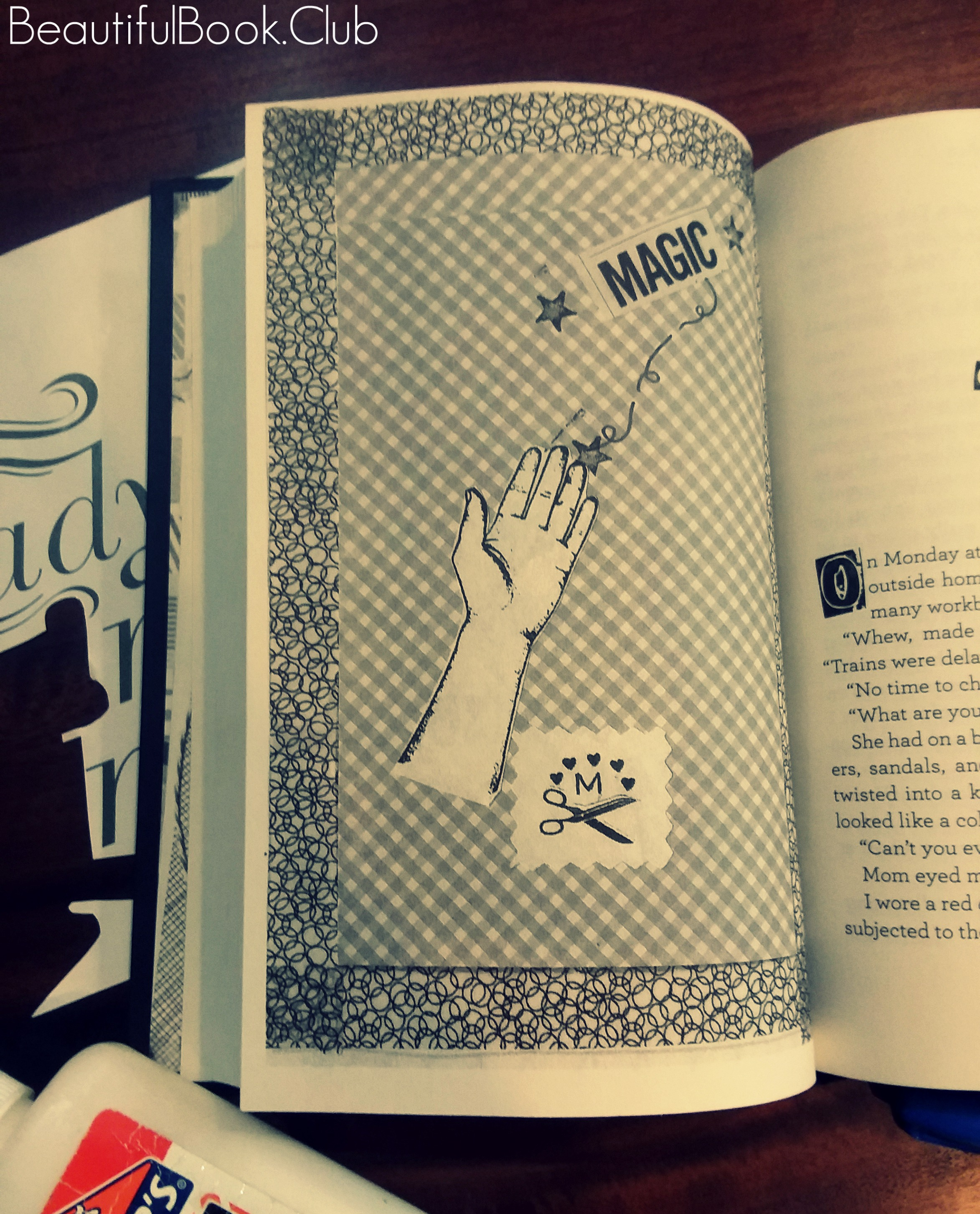 Magic page in The First Rule of Punk by Celia C. Perez
