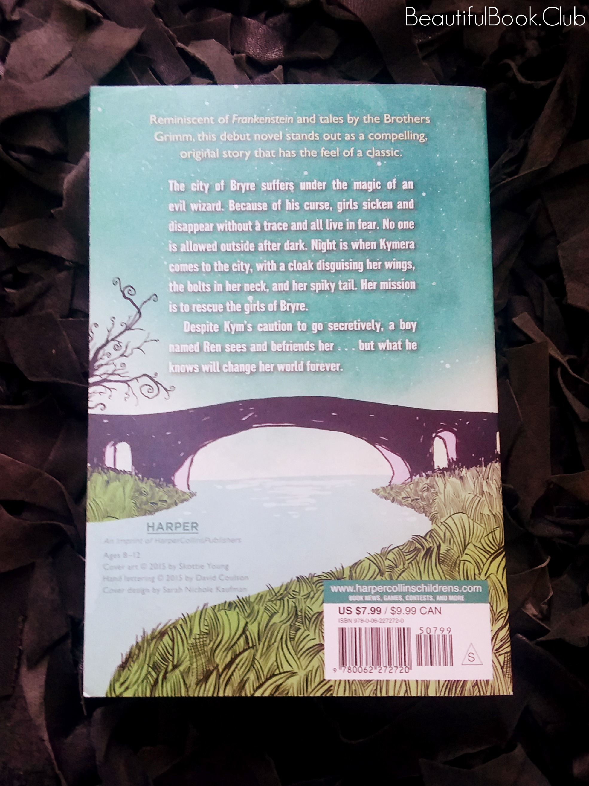 Monstrous by MarcyKate Connolly Back cover
