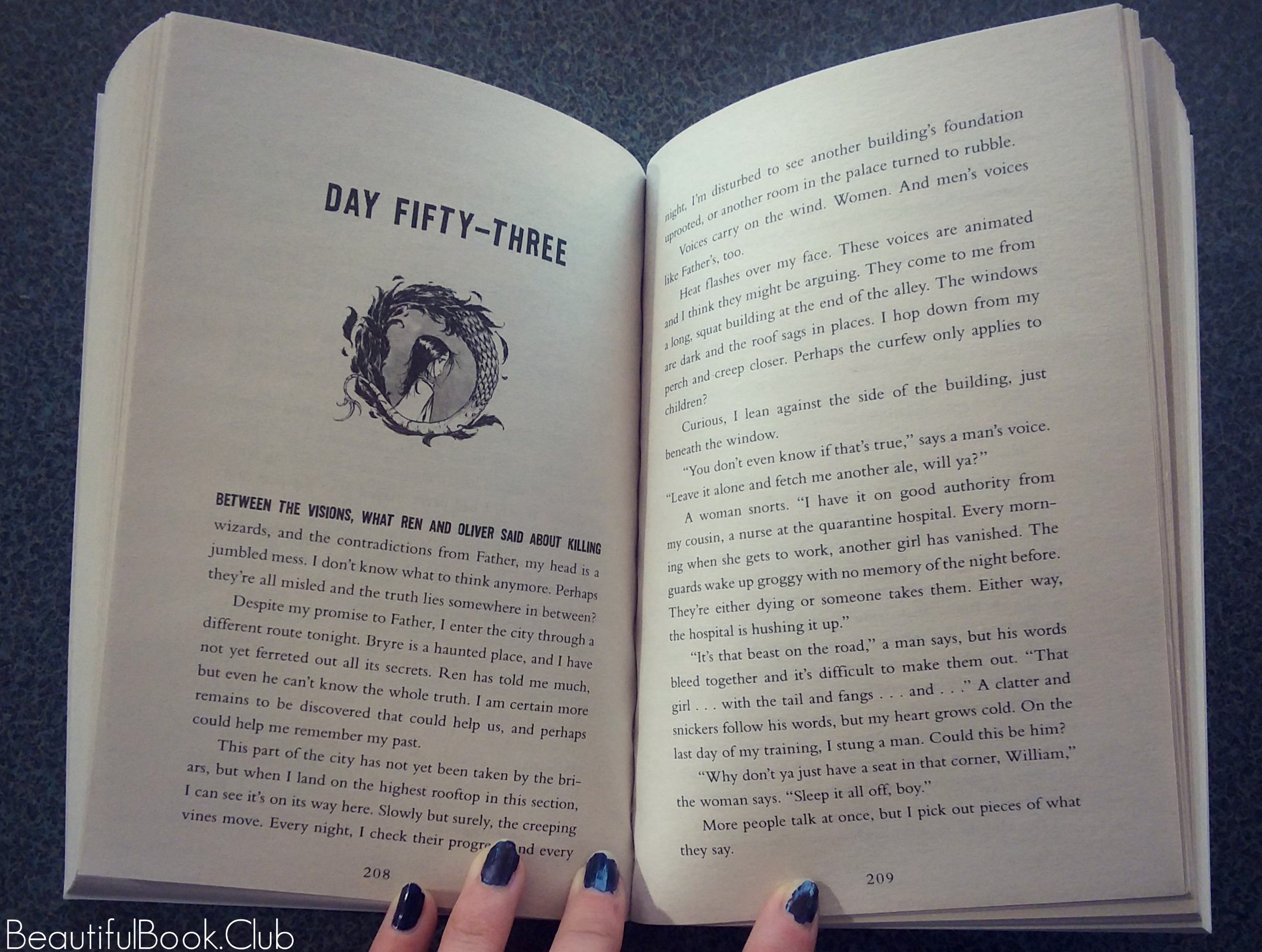 Monstrous by MarcyKate Connolly Day fifty-three