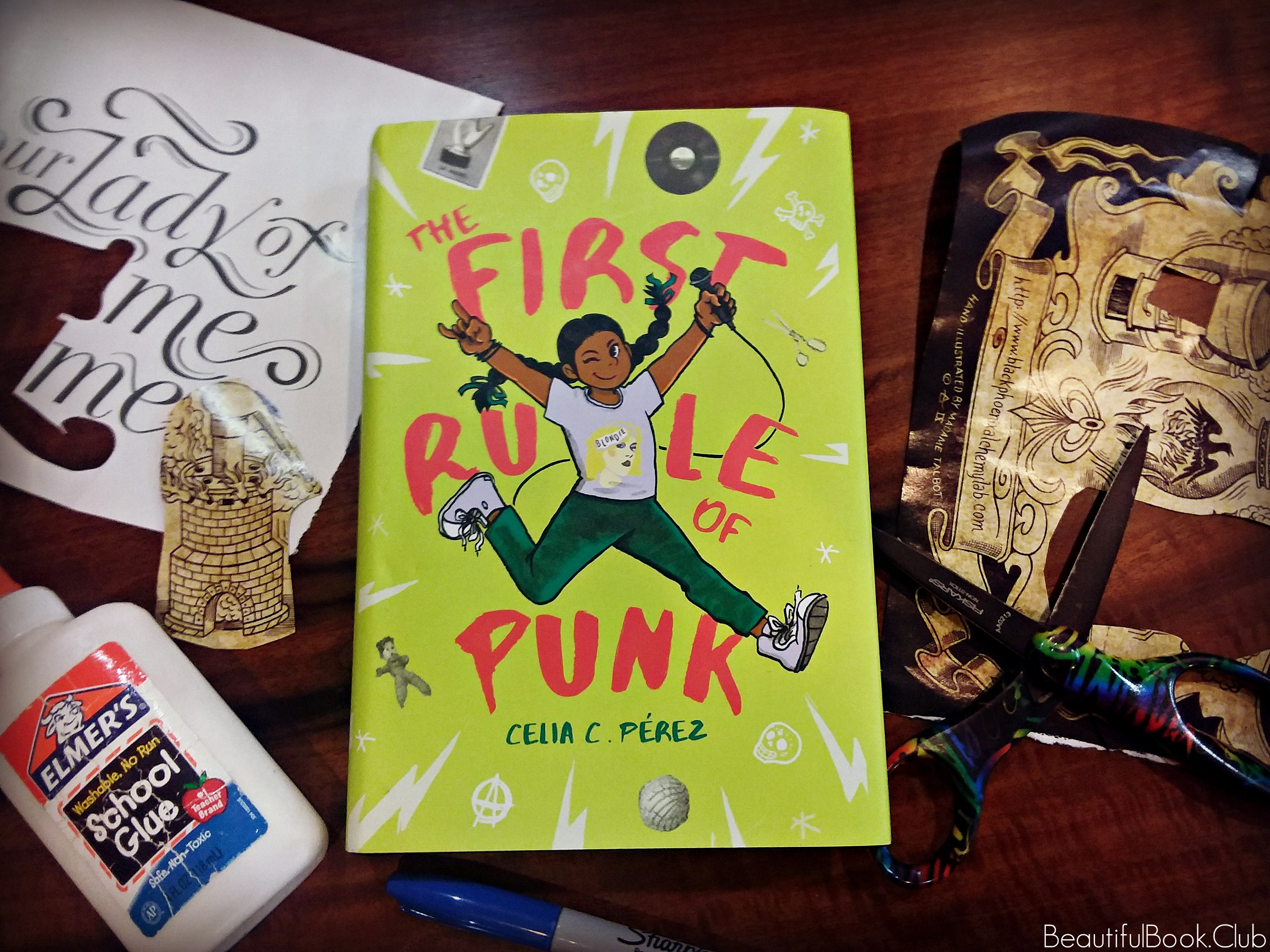 The First Rule of Punk by Celia C. Perez front cover
