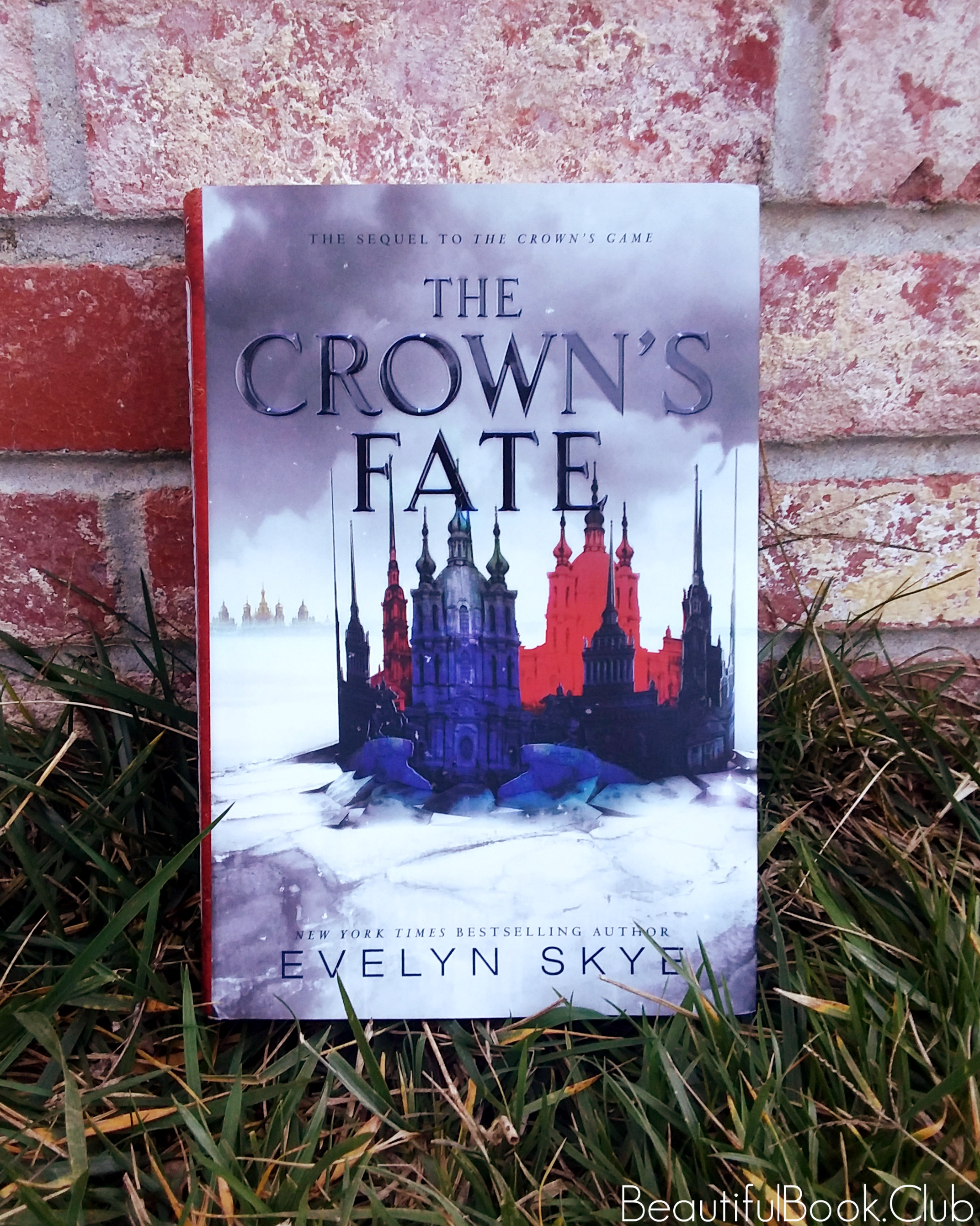 The Crown's Fate by Evelyn Skye front cover (1)