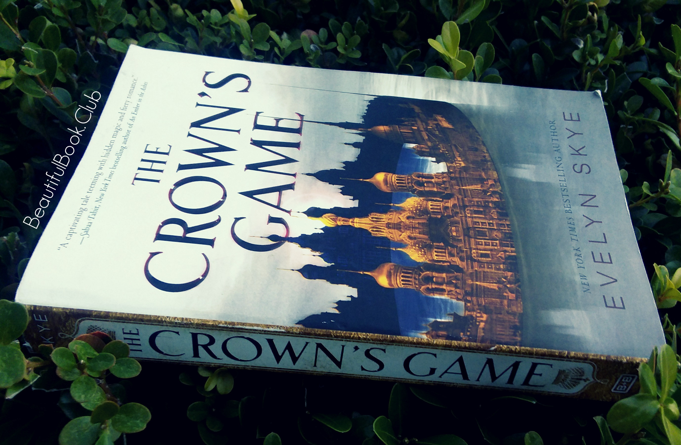 The Crown's Game by Evelyn Skye front cover and spine