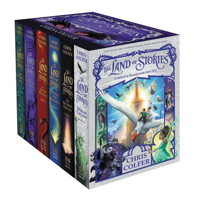 The Land Of Stories series Book Cover