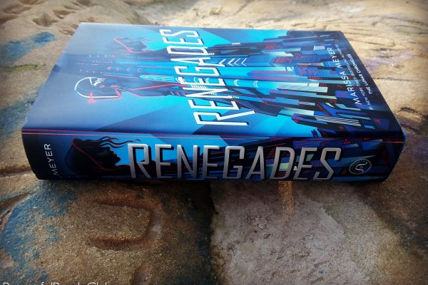 Renegades by Marissa Meyer spine and front cover