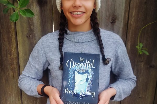 The Dreadful Tale Of Prosper Redding by Alexandra Bracken and me
