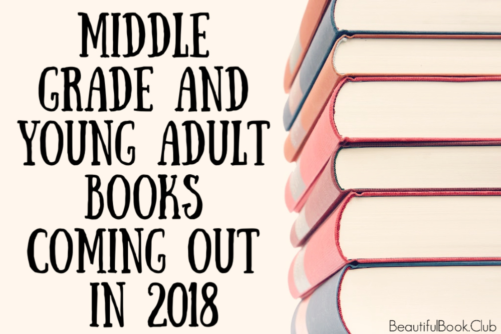 2018 ya and mg books coming out